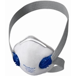 R10 Dual-Valve N95 Particulate Disposable Respirator, Box of 10 N95 Disposable Respirator, NIOSH approved