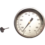 Equipment Thermometer - 4 in. length