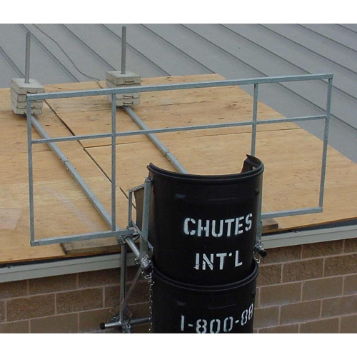 Durachute Flat Roof Safety Frame