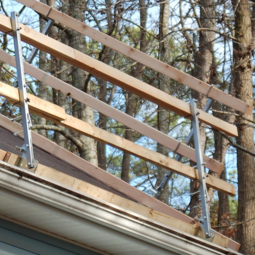 Roof Zone 65014 Steep Slope Guardrail Bigrocksupply Com