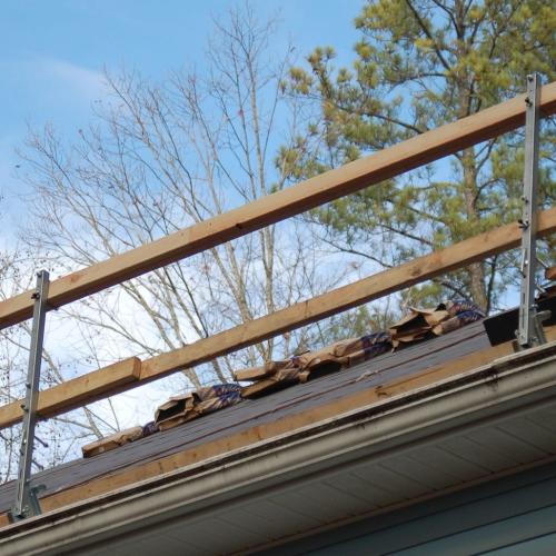 Roof Zone 65014 Steep Slope Guardrail Bigrocksupply Com