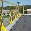 AES Raptor RaptorRail Perimeter Guardrail - 350 ft. Contractor Base Kit