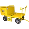 AES Raptor TriRex Mobile Fall Protection System w/20 cu. ft. Job Box AES TriRex Mobile Fall Protection System