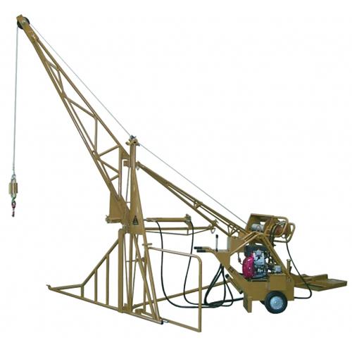 Ase 2000 Hydraulic Swing Hoist All Seasons Equipment