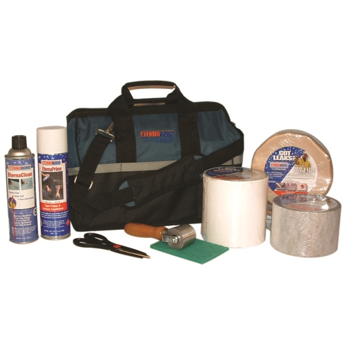 EternaBond Ultimate Roofing Kit The ultimate kit with everything you need to repair leaks using EternaBond. EternaBond Ultimate Roofing Kit