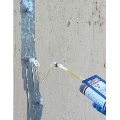 Basement Penetration Seal Wall: 10 Ft. Foundation Crack Repair Kit - Polyurethane Foam EMECOLE-10PCRK