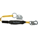 FallTech 8353LT Manual Rope Grab with ViewPack 3 foot Shock Absorbing Lanyard