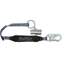 FallTech 8368 Self-Tracking Rope Grab with ViewPack 3 foot Shock Absorbing Lanyard