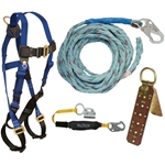 FallTech 8593A Basic Roofers Kit