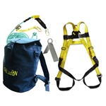 Guardian 00815 Safe-Tie Roofing Kit w/Bag Guardian safety kit, guardian bag of safety kit, guardian bag of safety roofers kit, safe-tie, guardian bucket of safe-tie
