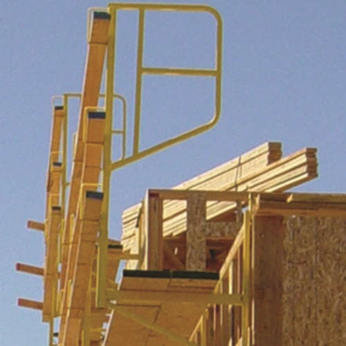 Guardian 61128 Hanging Scaffolding End Rail Gua 61128