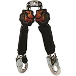 *Clearance* Guardian 11053 6 ft. Diablo Double Kit SRL with Aluminum Rebar Hooks guardian fall protection, self retracting lifeline, srl, diablo, fall protection, roofing, safety
