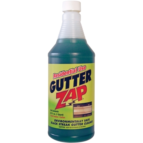 Residential Use Gutter Zap Gutter Cleaning Solution 1 Qt