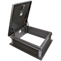 JL Industries Aluminum RHDA-2 Roof Hatch - 54 in. x 30 in. Roof hatch, jl industries roof hatch, jl industries