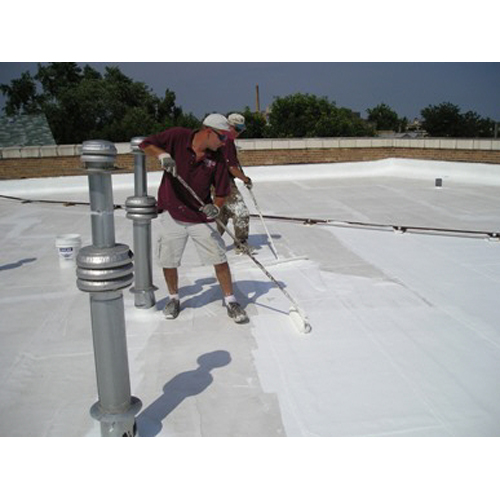 Lucas 1000TC Elastomeric Roof Coating Top Coating 5 GAL