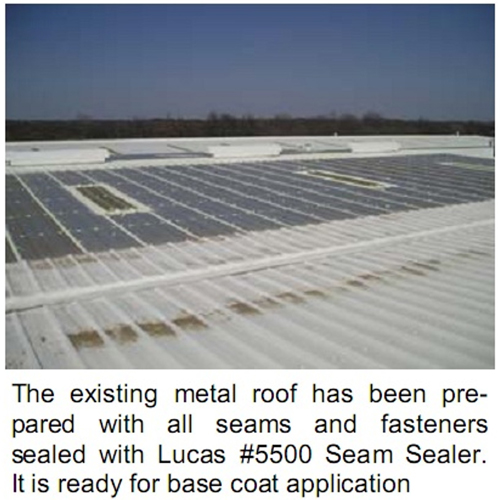 Lucas 5000 Thermoplastic Roof Coating 5 Gal