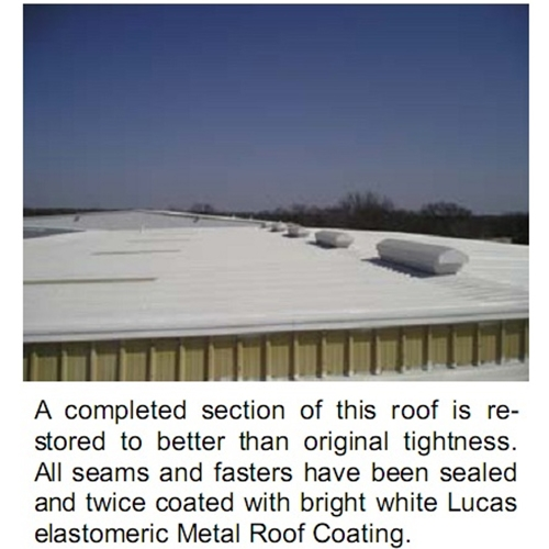Lucas 5000 Thermoplastic Roof Coating 5 GAL - LUC-5000