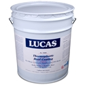 Lucas 5000 Thermoplastic Roof Coating 5 GAL Lucas #5000 Thermoplastic Roof Coating 5 GAL, A solvent-borne polymeric coating intended for restoring metal, TPO, Hypalon, concrete and asphalt roofs previously coated with acrylic coating