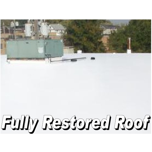 Lucas 6000 White Universal Thermoplastic Roof Coating 5