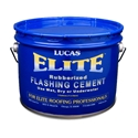 Lucas 776 Elite Flashing Cement Rubberized 3 GAL Lucas #776 Elite Flashing Cement Rubberized 3 GAL, Designed as a super-premium, high-performance flashing cement for use on modified bitumen and asphalt roofs