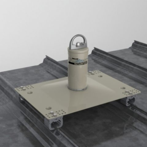 Miller Fusion Standing Seam Roof Anchor Large Base