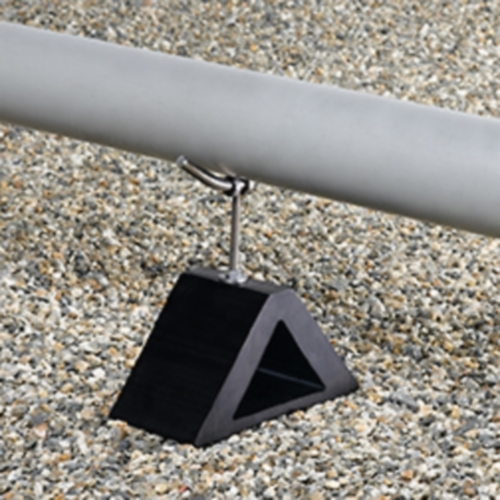OlyFlow PGHA85-BK Height Adjustable Pipeguard - OMG-PGHA85-BK