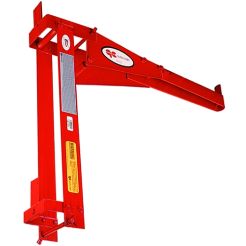 Roofing Pump Jacks : Qual craft pump jack guard rail work bench combo