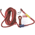 SAS 4009 30 Ft. Deluxe Lifeline with Snaphook and Super Grab