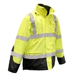 Radwear SJ410B Class 3 Three-In-One Weatherproof Parka Jacket