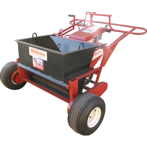 Gravel Spreader Attachment For Workhorse Power Unit