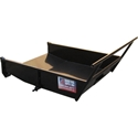Workhorse Debris Tray Attachment workhorse, deckhorse, roofing, buggy, roofers, debris, dump, tray