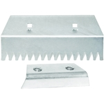 Roof Zone 13832 Roof Ripper Replacement Blade and Heel shingle remover, shingle eater, roof ripper, roof zone