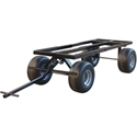 RoofZone 65028 Trailer with Flat Free Tires
