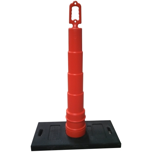 Roofing Warning Line System, 30 lb. Base & Cone Roofing Warning Line System, flag, stands, warning, line, flagstands,