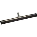 "18"" Straight Black Rubber Squeegee"