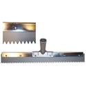 18 in. x 3/8 in. Gray EPDM Notched Squeegee
