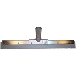 18 in. x 1/8 in. Gray EPDM Notched Squeegee