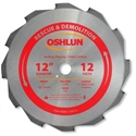 12 inch x 12 teeth x 1 inch arbor Carbide Tipped Rescue & Demolition Saw Blade