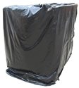 4 ft. x 8 ft. Pallet Covers - 3 mil, Black, 25/ROLL