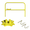 BlueWater Manufacturing SafetyRail 2000 Kit- Roof Fall Protection Guardrail