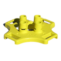 BlueWater SafetyRail 2000 Kit, Yellow Base Only
