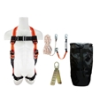 Fall Protection Kit, Complete w/50' Rope Lifeline