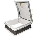 Milcor- 36 in. x 30 in. M-1 Galvanized Roof Hatch