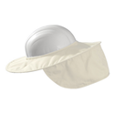 Occunomix® MiraCool Stow-Away Hard Hat Shade - White