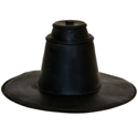 Portals Plus Small Black EPDM Pipe Boot