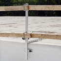 Roof Zone 65015 Parapet Wall and Universal Guardrail System