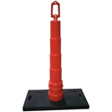 Roofing Warning Line System, 30 lb. Base & Cone