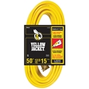 Coleman Cable 50 ft. 12/3 Yellow Jacket Power Cord