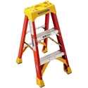 Werner 6203 Step Ladder, 3 ft. - Fiberglass