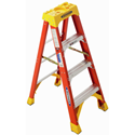 Werner 6204 Step Ladder, 4 ft. - Fiberglass